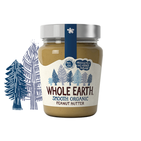 Organic Smooth Peanut Butter 227g