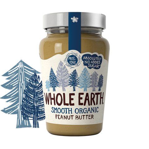 Organic Smooth Peanut Butter 340g