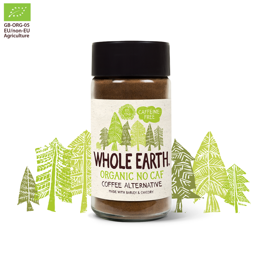 Whole Earth Foods Organic NoCaf 100g