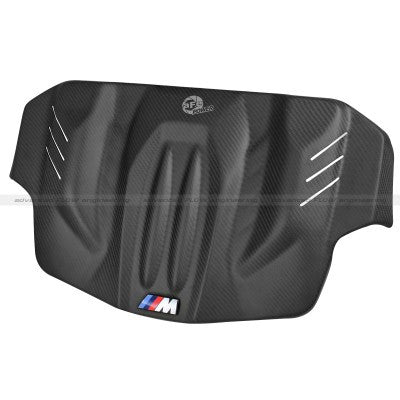 aFe Power BMW M5 & M6 12-15 Carbon Fiber Engine Cover (Matte)