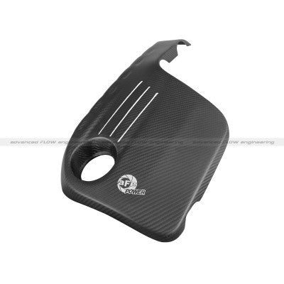 aFe Power 2015 BMW M3/M4 Carbon Fiber Engine Cover (Matte)