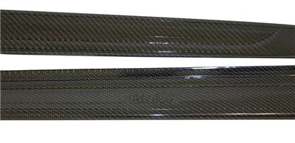 Seibon 07-10 BMW 3 Series 2dr (inc M3) OEM-Style Carbon Fiber Door Sills (Pair)