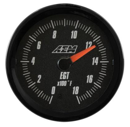 AEM Analog 0-1800F EGT Gauge (US)