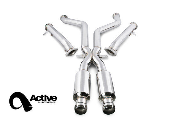 Active Autowerke E9X M3 Signature X Pipe With Straight Pipes (Race)