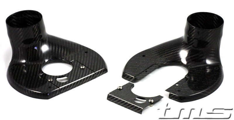 E46 Turner Motorsport Carbon Fiber Brake Backing Plates (Pair)