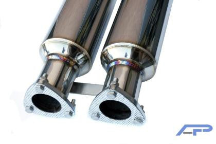 AP BMW E46 M3 Stainless Steel Section 1 Midpipes