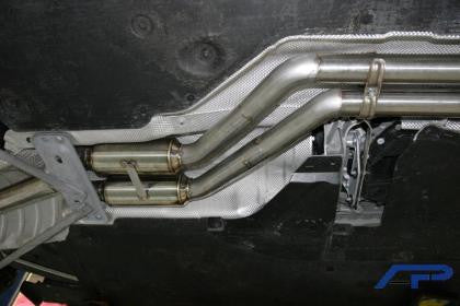 AP 07-10 BMW 135i High Flow Racing Mid Pipe
