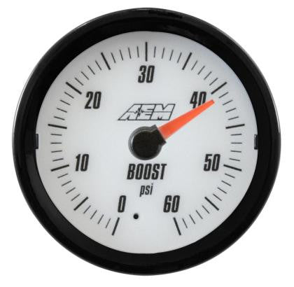 AEM Analog 60psi Boost Gauge (US)