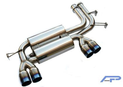 AP BMW E46 M3 Stainless Steel Exhaust w/Ti tips
