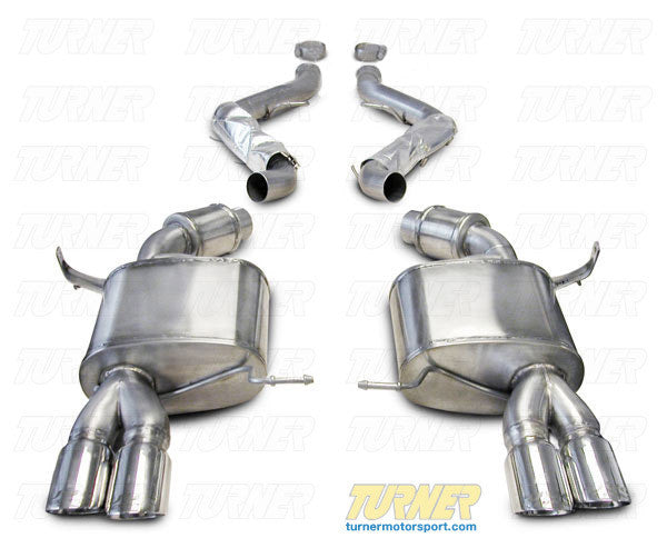 E9X M3 Turner/Corsa Sport Exhaust System