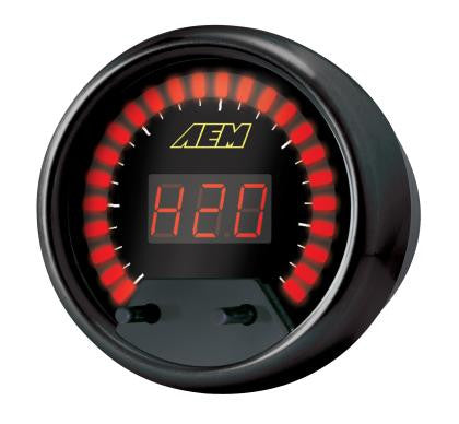 AEM 13 Channel Serial Data Stream Gauge (For use w/ AEM EMS only) -- includes black and silver bezel