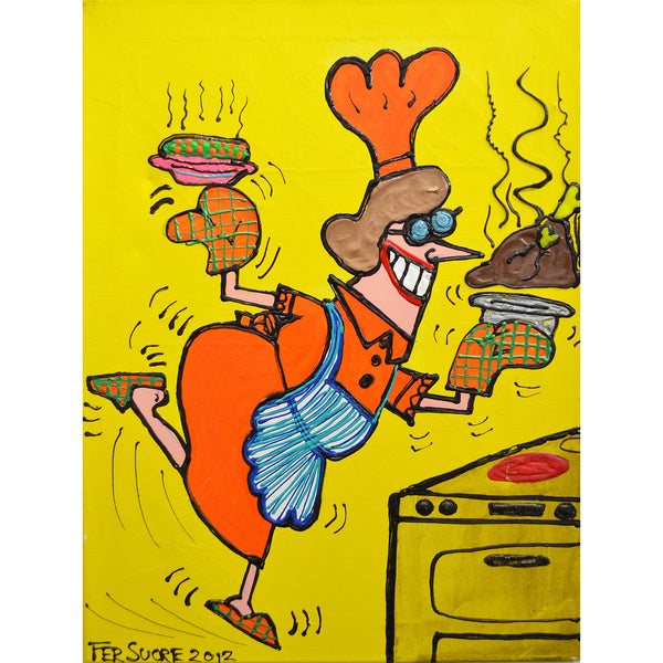 Having Fun Cooking  by Fer Sucre
