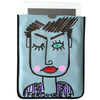 Blue IPad Cover Pop Bags