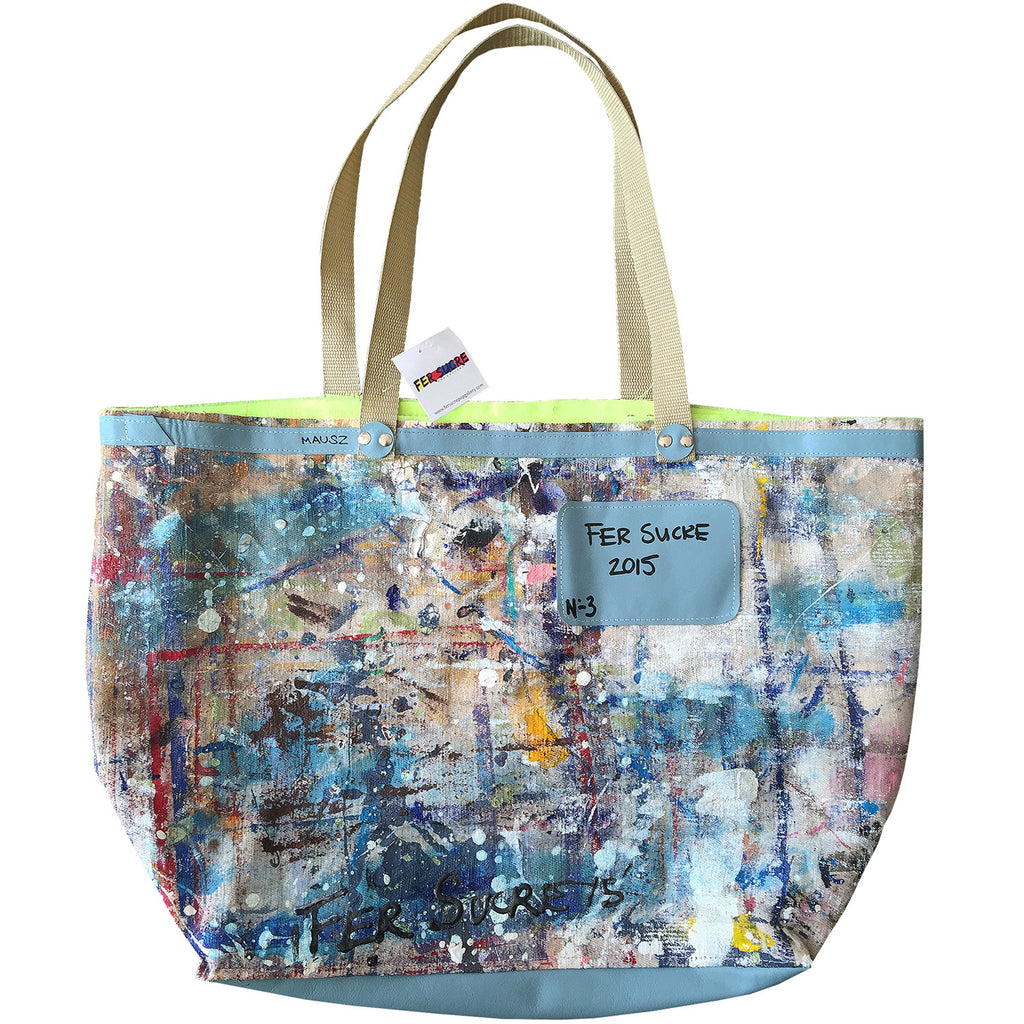 Large Canvas Limited Edition Pop Bag  #3