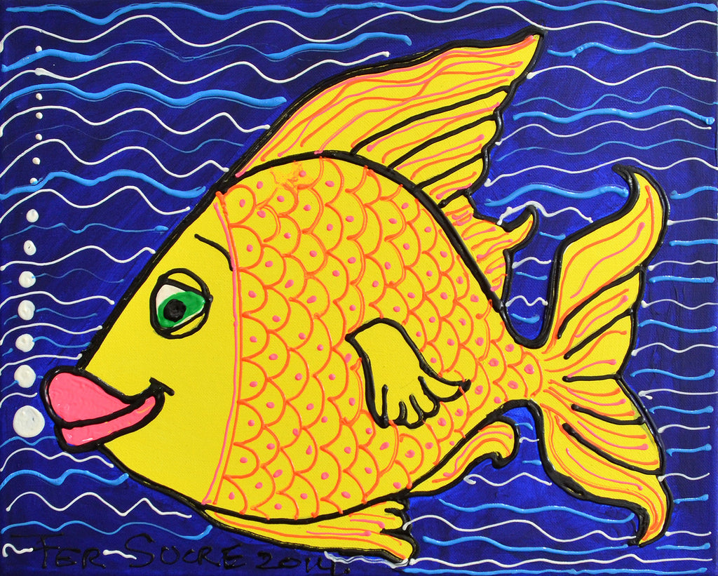 Yellow Fish. Fer Sucre. 2014