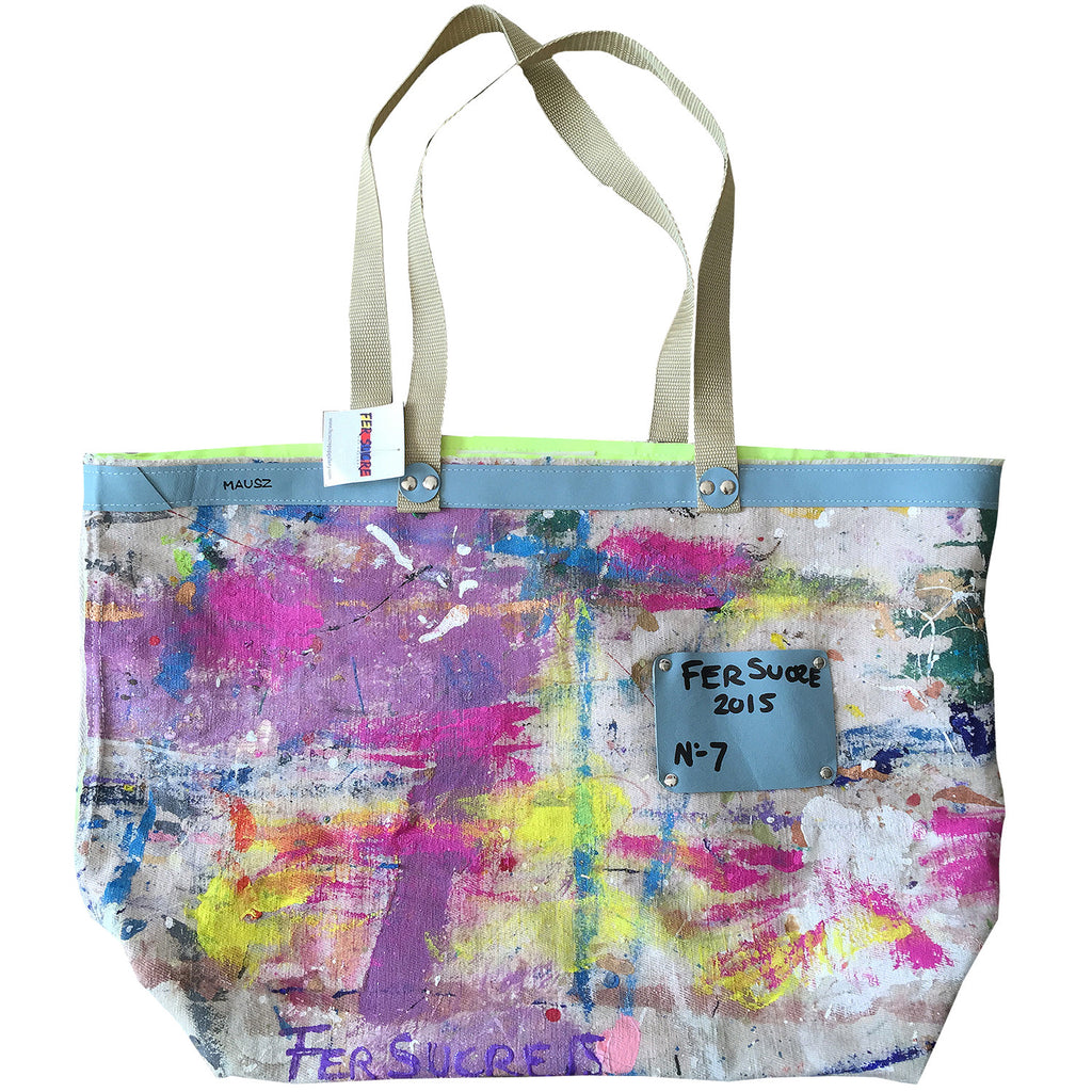 Large Canvas Limited Edition Pop Bag #7