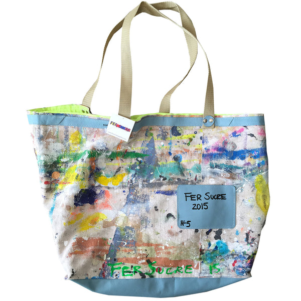 Large Canvas Limited Edition Pop Bag #5