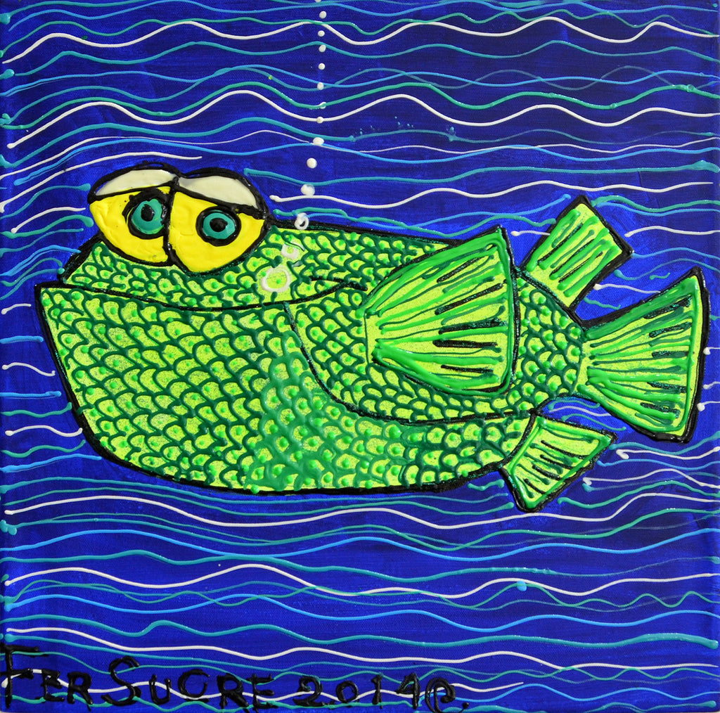 Green Fish . Fer sucre