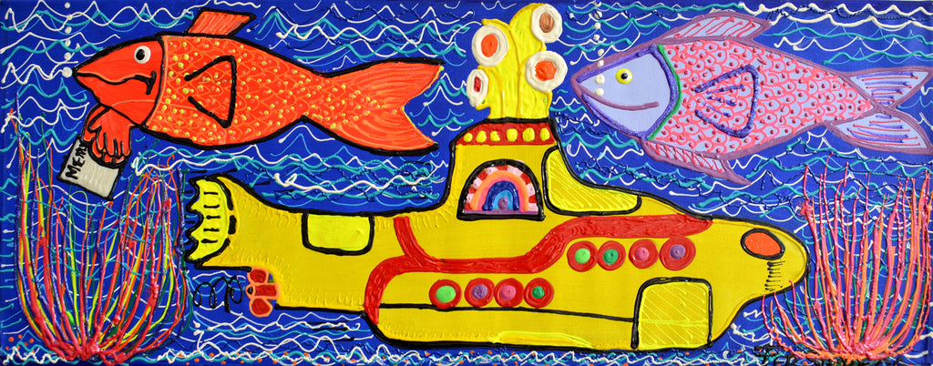 Yellow Submarine and Fish. Fer Sucre