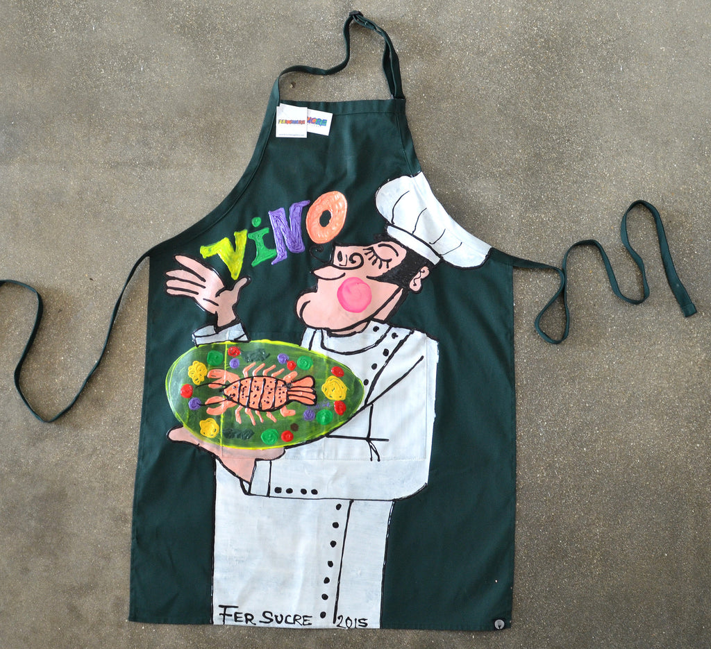 Vino Chef  Green Apron