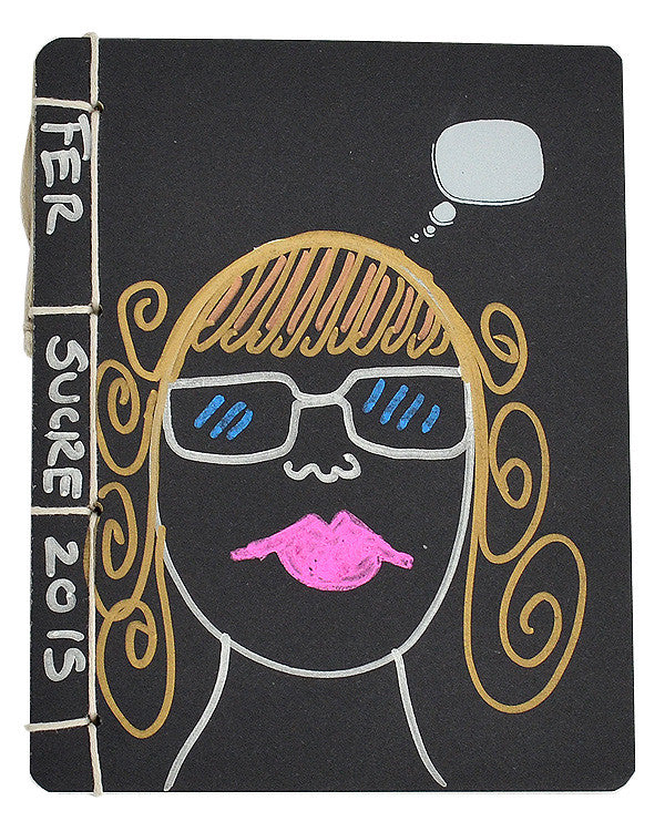 Funny Girl Sketch Notebook by Fer Sucre