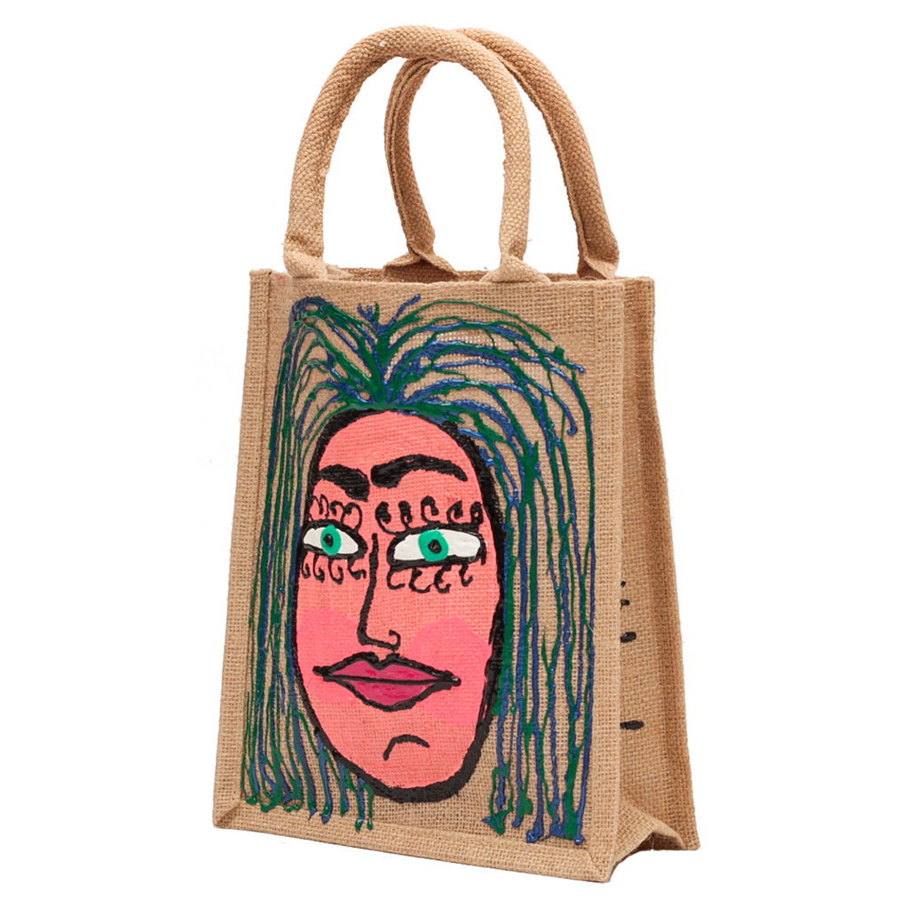Woman 3 Tall Yute Bag by Fer Sucre  .Acrylic and Plastic