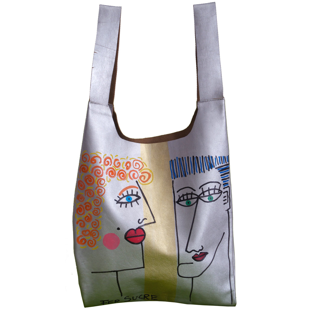 Just Fun Pop Bags  by Fer Sucre in collaboration with Yaroslava Alonso