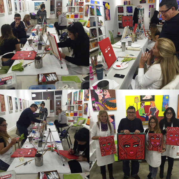 Creating with Fer Sucre 2/24/16