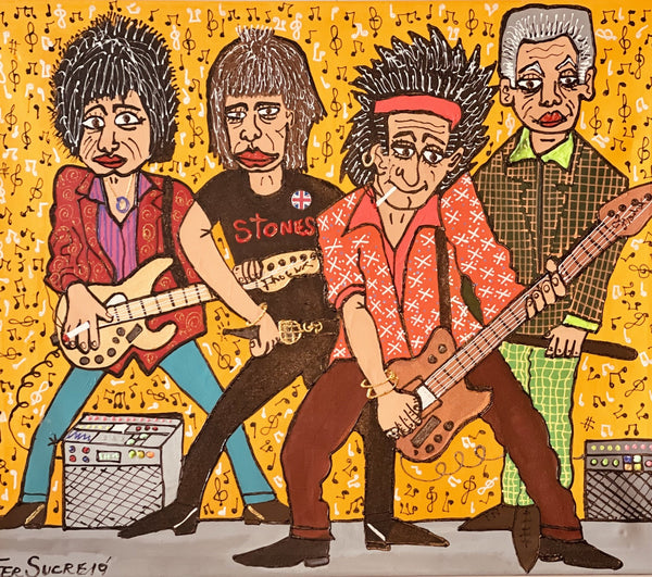 "Rolling Stones ""The Band"""