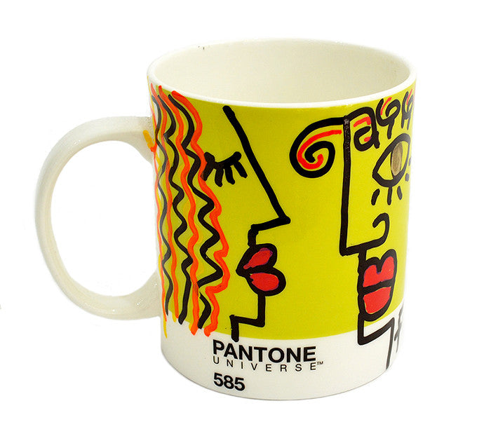 In Love Yellow Pantone Pop Cup by Fer Sucre