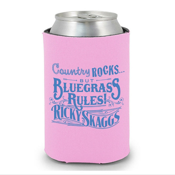 Ricky Skaggs Pink Coozie