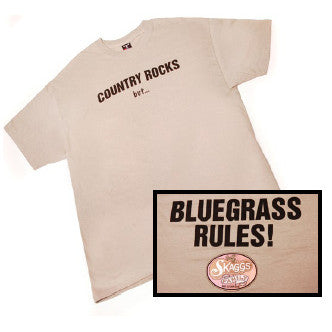 """Bluegrass Rules"" Sage Short Sleeve T-Shirt"