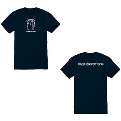 """My Cup Runneth Over"" Navy T-Shirt"