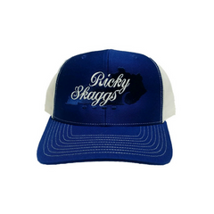 Ricky Skaggs Royal Blue Ballcap