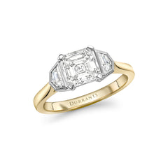 Asscher Three Stone