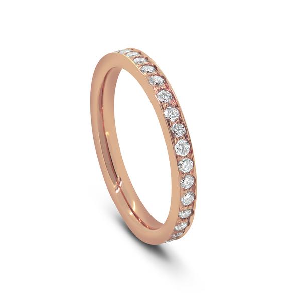 Rose Gold Full Pave