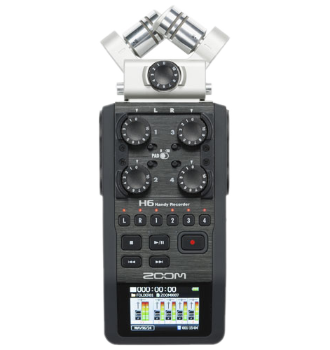 Zoom H6 Six Track Recorder