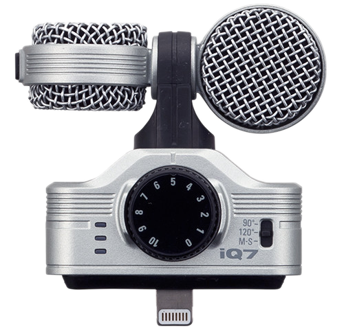 IQ7 Professional Stereo Microphone IOS For iPhone, iPad, & iPod Touch