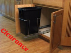 AA1860 - Sliding Trash Can - Black