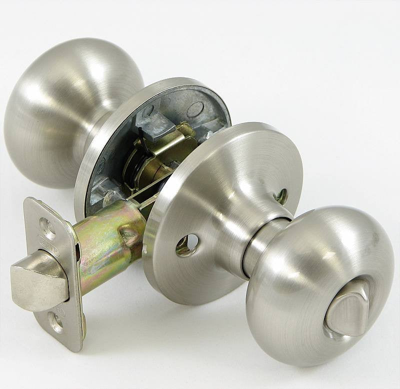 BP52215 - Better Home Products Mushroom Privacy Set Door Knob