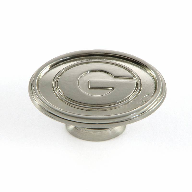 CL81097-SN-GEO   Georgia Cabinet Knob in Satin Nickel Finish