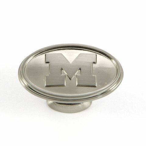 CL81097-SN-MICH   Michigan Cabinet Knob in Satin Nickel Finish