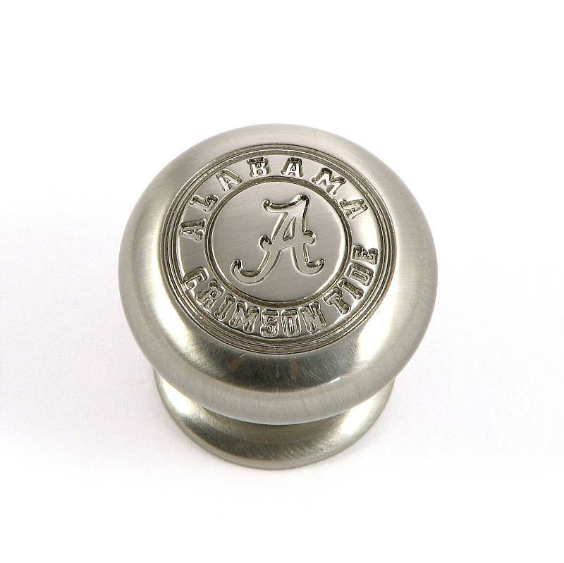 CL82980-SN-ALA   Alabama Cabinet Knob in Satin Nickel Finish
