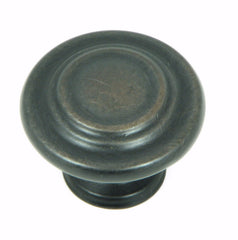 CP1398-OB   Oil Rubbed Bronze Three Ring Cabinet Knob