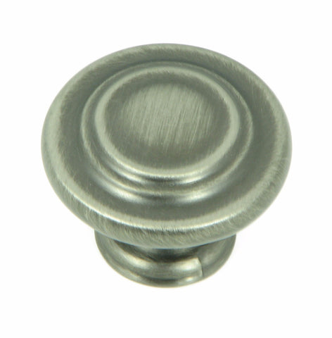 CP1398-WEN   Weathered Nickel Three Ring Cabinet Knob
