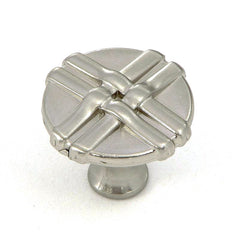 CP1492-SN   Satin Nickel Weave Cabinet Knob