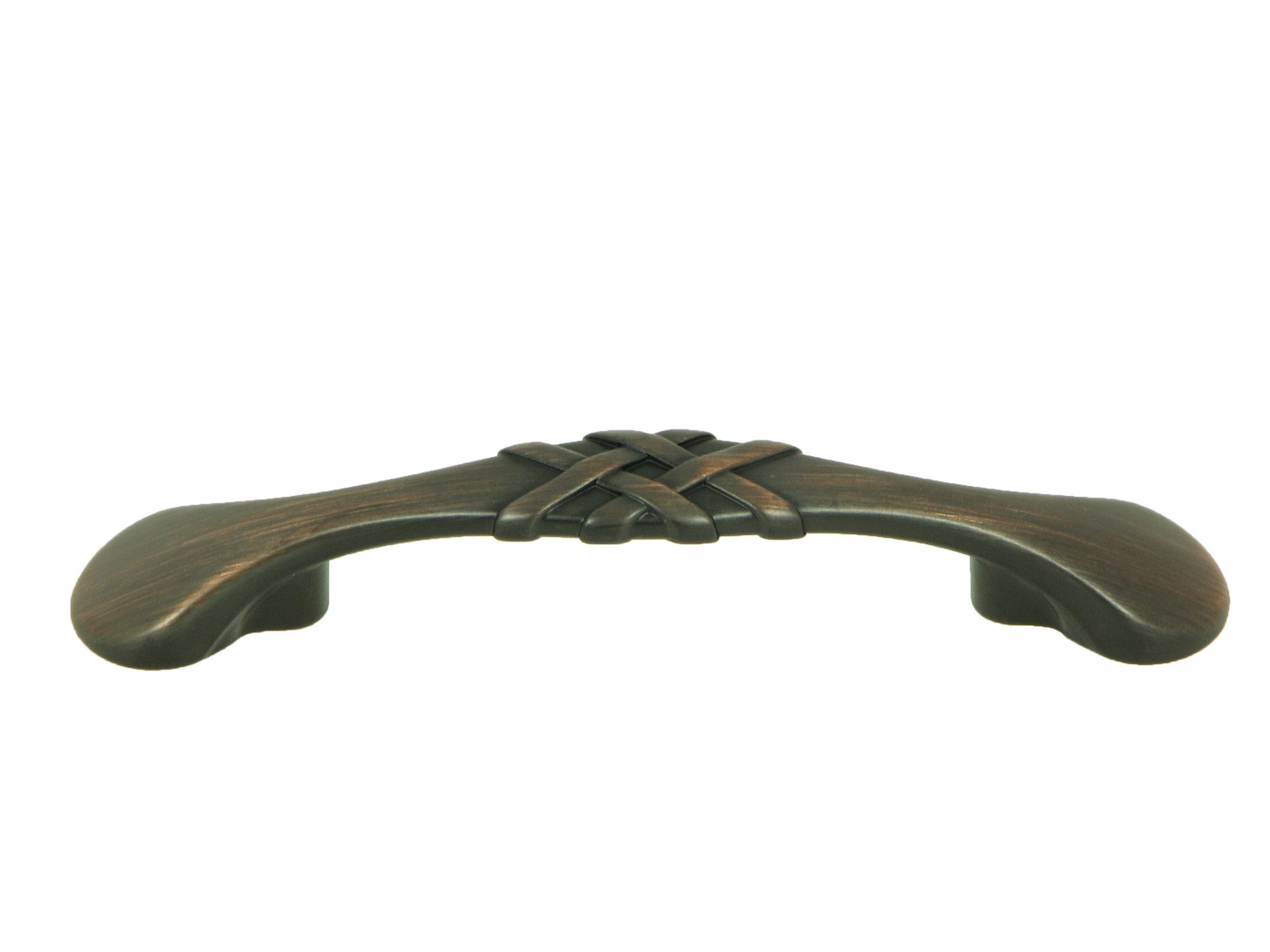 CP1495-OB   Oil Rubbed Bronze Weave Cabinet Pull