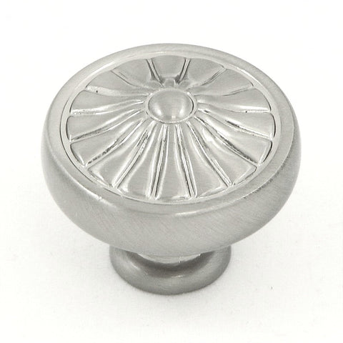 CP27-SN   Satin Nickel Darlington Cabinet Knob