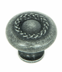 CP3027-SI   Swedish Iron Rope Cabinet Knob