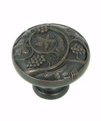 CP3079-OB   Oil Rubbed Bronze Vineyard Harvest Cabinet Knob